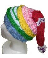 Hand-knit Dobby Elf Hat, size child-large - $32.00