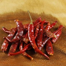 Arbol Chili Peppers - Dried - 2 cases - 5 lbs ea - $61.00
