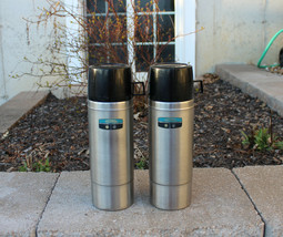 Vintage King Seeley Thermos Stainless Steel Vacuum Bottle Quart Size #2464S - $30.00