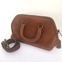 Coach Authentic Doctor Brown Shoulder Strap Satchel Vintage Leather Tote... - $155.99
