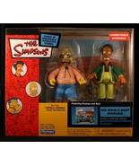 Simpsons Kwik-E-Mart Interactive Diorama w/ Apu and Grampa Simpson - $34.16