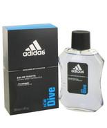 Adidas Ice Dive by Adidas Eau De Toilette Spray 3.4 oz for Men - $25.00
