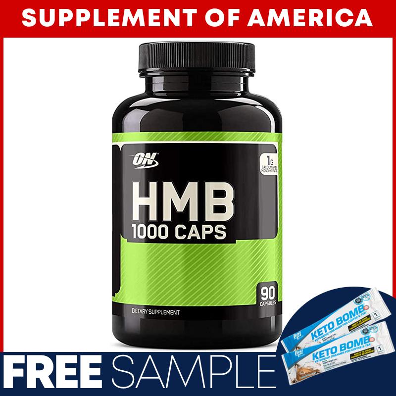 "Optimum Nutrition HMB 1000MG 90 Capsules ""FREE SHIPPING"" - $38.56"