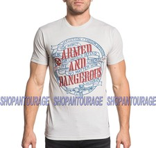 Affliction Dangerous A18406 New Short Sleeve Graphic Fashion T-shirt for Men - $53.53