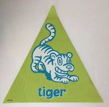 Cranium Hullabaloo Children Game Green Tiger Triangle Foot Mat Floor Pad... - $5.94