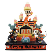 2020 Disney Parks Halloween Mickey & Minnie Candy Corn Castle Countdown ... - $118.80