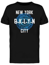 Blue Abstract Brooklyn Circle Men's Tee -Image by Shutterstock - $12.86+