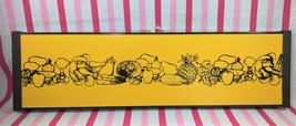 MoD Vintage 1970's Party Hostess Mushroom & Veggie Graphics Electric Foo... - $10.00
