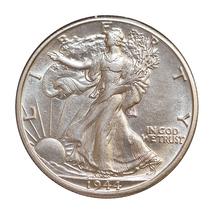 1944 D Walking Liberty Half Dollar - Gem BU / MS / UNC - $52.00