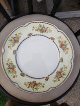 6 10 INCH DINNER PLATES  in Victoria (Floral Basket) by Johnson Brothers - $44.50