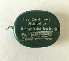 Vintage Metal Tape Measure Service Transfer Wichita Kansas - $10.84