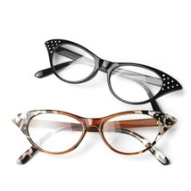 Women Reading Glasses Cat Eye Readers Eyewear Cat Eye Lady Spectacles - $6.57