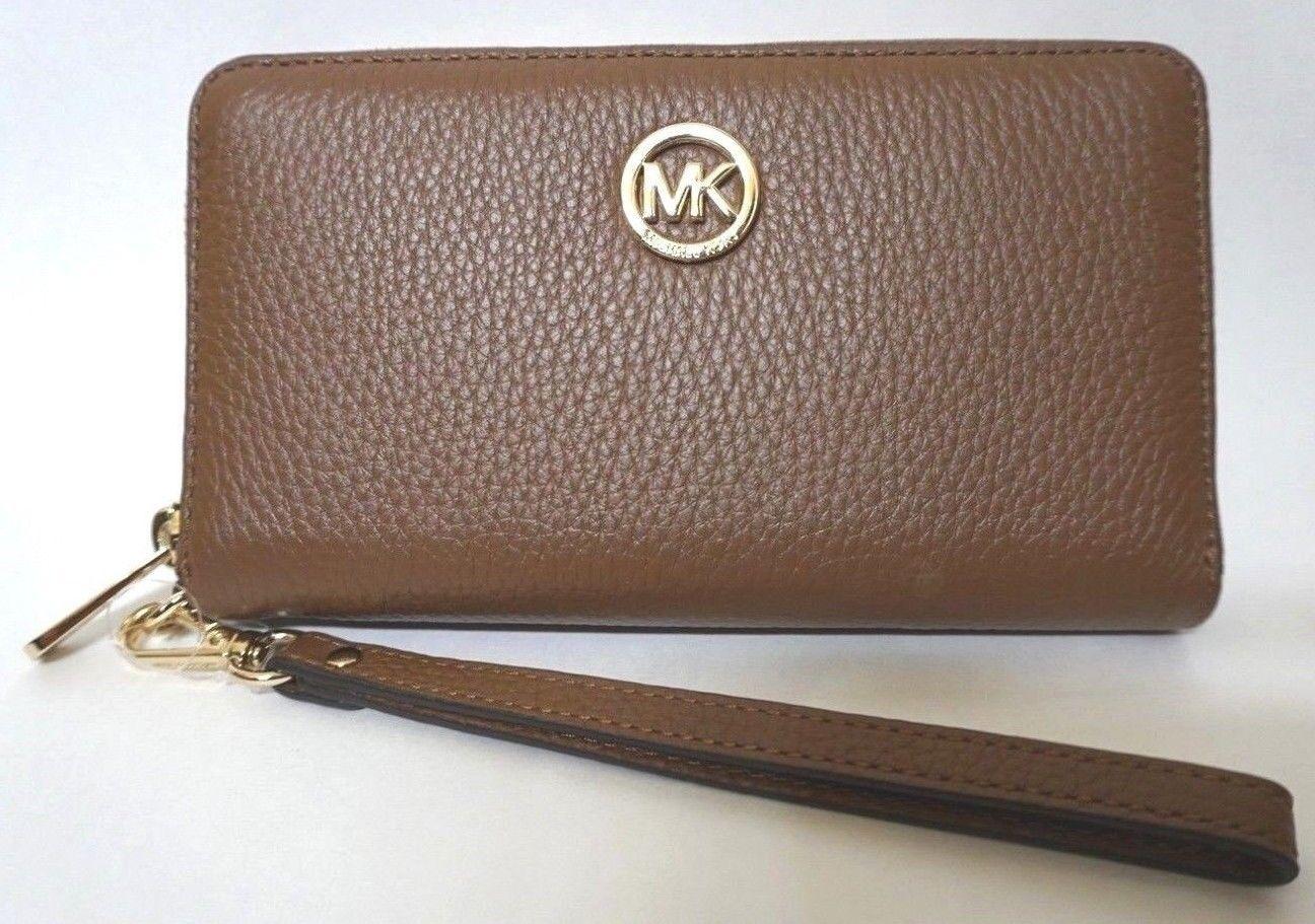 d16abb62f4e92 Michael Kors Fulton Brown Pebbled Leather and 50 similar items. S l1600