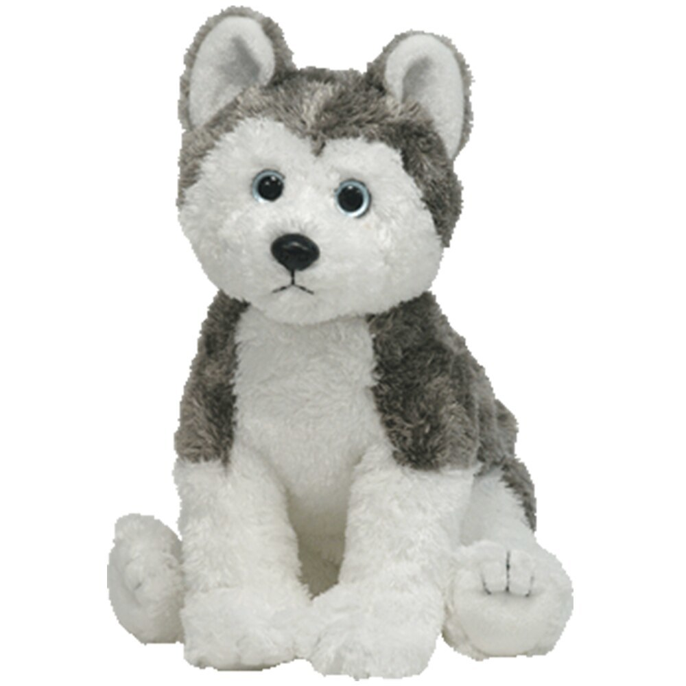 "Primary image for Pyoopeo Ty Classic 10"" 25cm Slush the Husky Dog Plush Medium Soft Stuffed Animal"