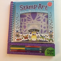 Klutz Stamp Art Kit Book Craft Set Instructions Ages 8 & Up New - $19.88