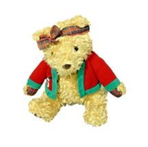 Hallmark Cards Teddy Bear Plush Christmas Collections Brown Animal Stuff... - $14.84