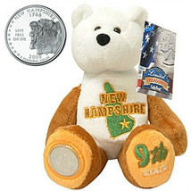 Limited Treasures Coin Bear NWT New Hampshire 9th State New with Tags - $11.13