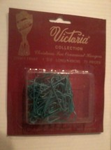 (1) Nos Vintage Rauch Victoria Collection Christmas Tree Ornament Hangers Green - $12.19