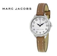 Marc Jacobs MJ1480 Betty White Dial Ladies Watch 28MM Nwt - $217.04