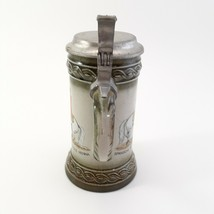 West Germany Stein Piaffe Spanische Reitschule Vienna Souvenir Mug With Lid  image 2