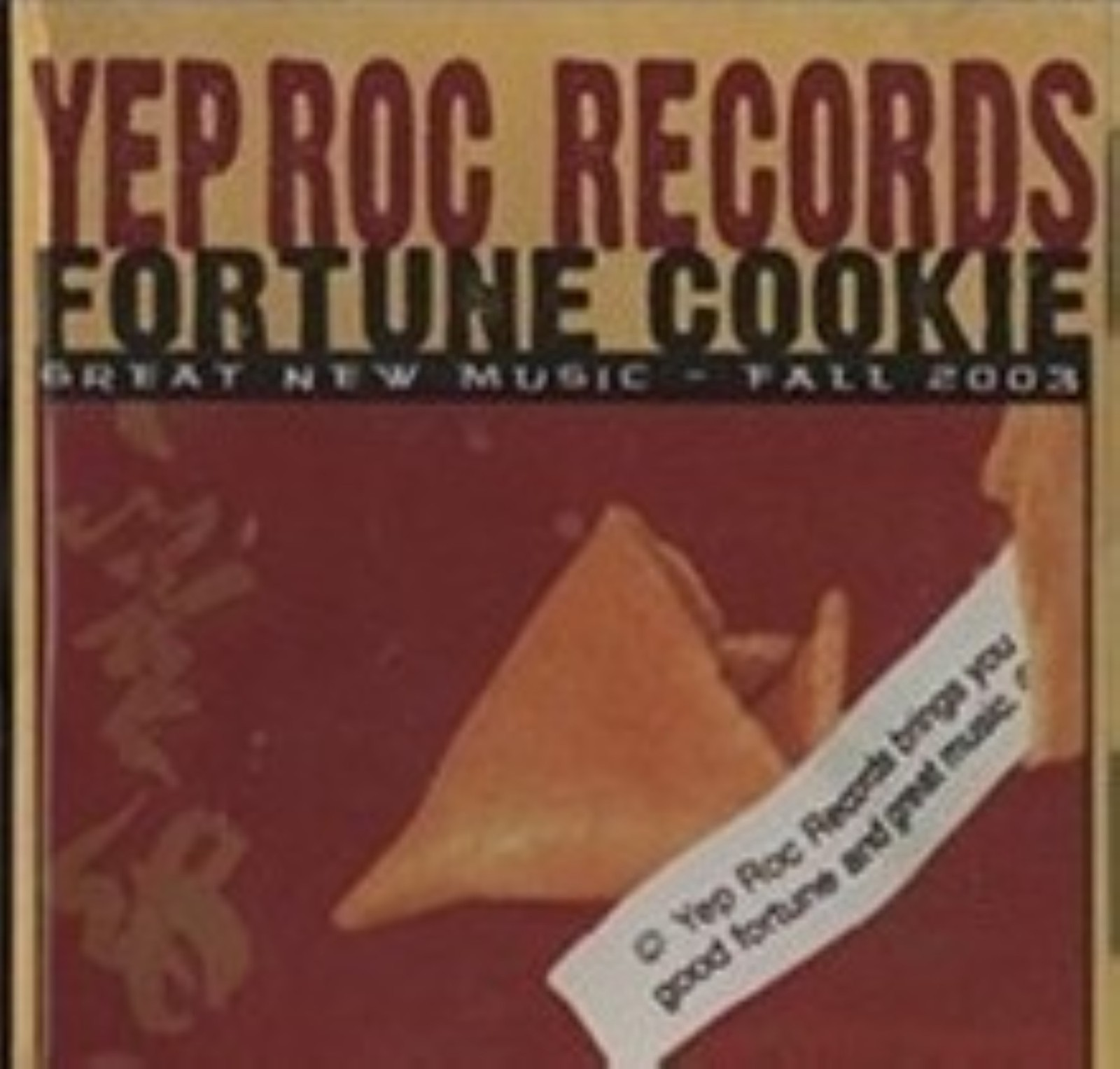 Yep Roc Records - Fortune Cookie 2 By Various Cd