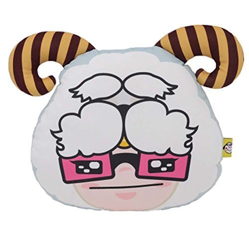 PANDA SUPERSTORE Car Headrest Neck Pillow Jushi Cute Cartoon Car Pillow Auto Acc