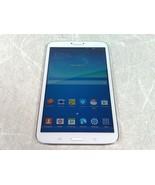 "Samsung Galaxy Tab 3 8.0 SM-T310 16GB White 8"" Wi-Fi Tablet Factory Reset - $58.41"