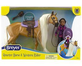 Breyer 2021 Charm & Western Rider Gabi NEW Freedom Series 1:12  image 3