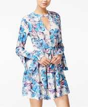 Free People Tegan Printed Cutout Mini Dress $98.00 Mult Sz - $39.99