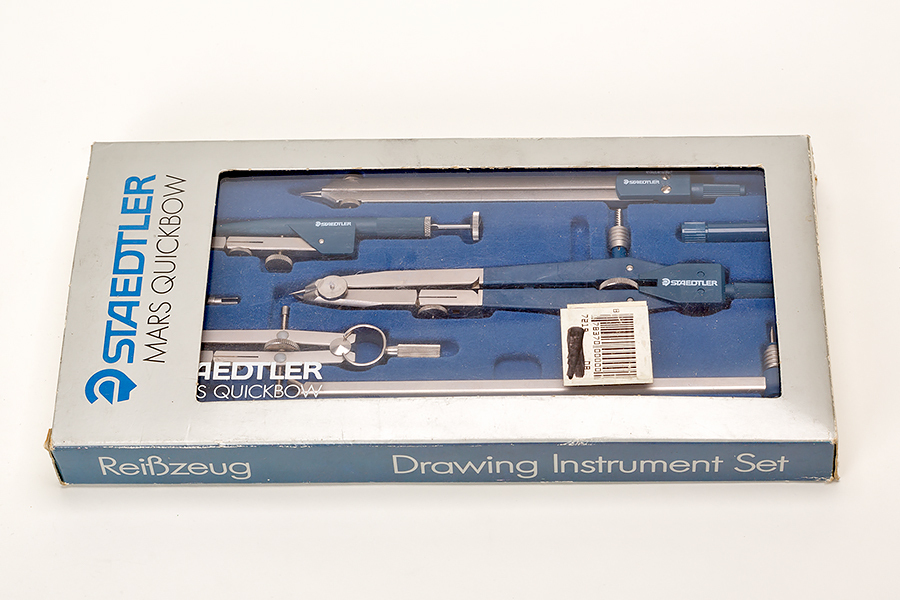Staedtler Mars Quickbow Drawing Instrument Set, Compass, Divider