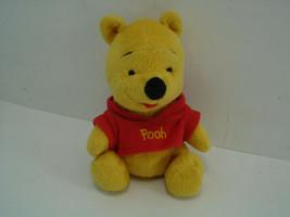 Vintage Mattel Winnie the Pooh Bear Plush Stuffed Animal Arcotoys Velour1979 - $9.89