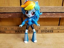 "My Little Pony Equestria Girls Minis RAINBOW DASH 4.5"" School Pep Rally  - $18.80"