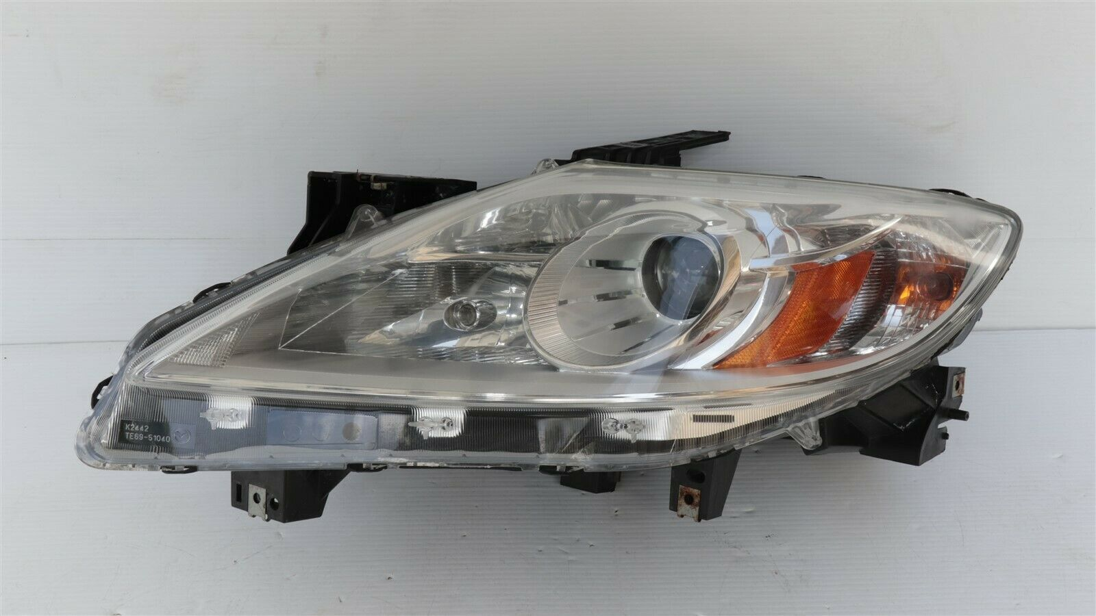 2010-12 Mazda CX-9 CX9 Halogen Headlight Driver Left LH - POLISHED