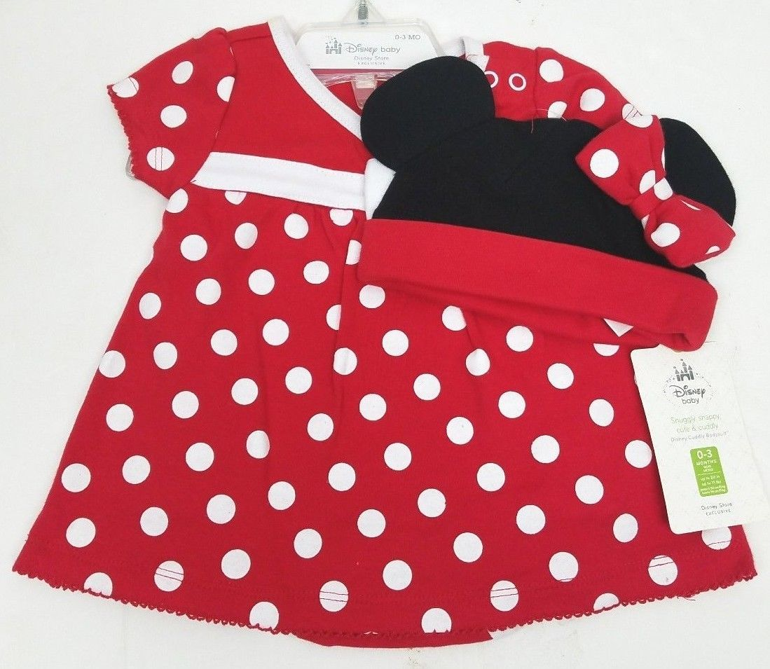 8bbb77610295 Disney Store Mickey Mouse Red White Polka and similar items