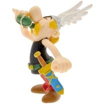 Asterix magic potion and Obelix stretching plastic figurine set Plastoy image 2