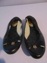 Michael Kors Melody Ballet Flat - Size 8 black - $62.37