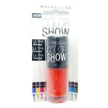 Maybelline Color Show Nail Lacquer 349 Power Red 7 mL. - $6.64