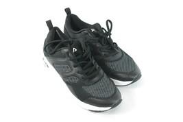 USED Fila Women's Black Memory Frame Sneaker Walking Athletic Shoe Size ... - $9.85