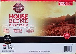 Wellsley Farms House Blend Coffee K-Cup Pods, 100 ct. - $55.02