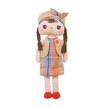 """Pretty Rag Doll for Kids Plush Toys Angela Rag Doll 15.7"""" H Plaid Dress - $31.23"""