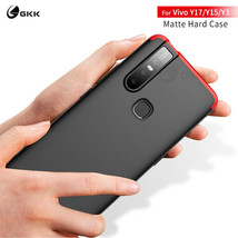 GKK® Shield Phone Case For Vivo Y17 Case 3 In 1 Fashion All-included Pro... - $5.88