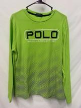 Polo Ralph Lauren Mens Shirt Classic Fit T-shirt Lime Green, Long Sleeve... - $13.85