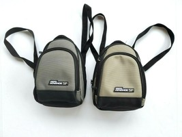 GBA SP Backpack Lot of 2 Carrying Case Official Gray Nintendo Gameboy Ad... - $29.99