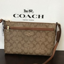 Coach East/West Crossbody With Pop Up Pouch Cro... - $98.01