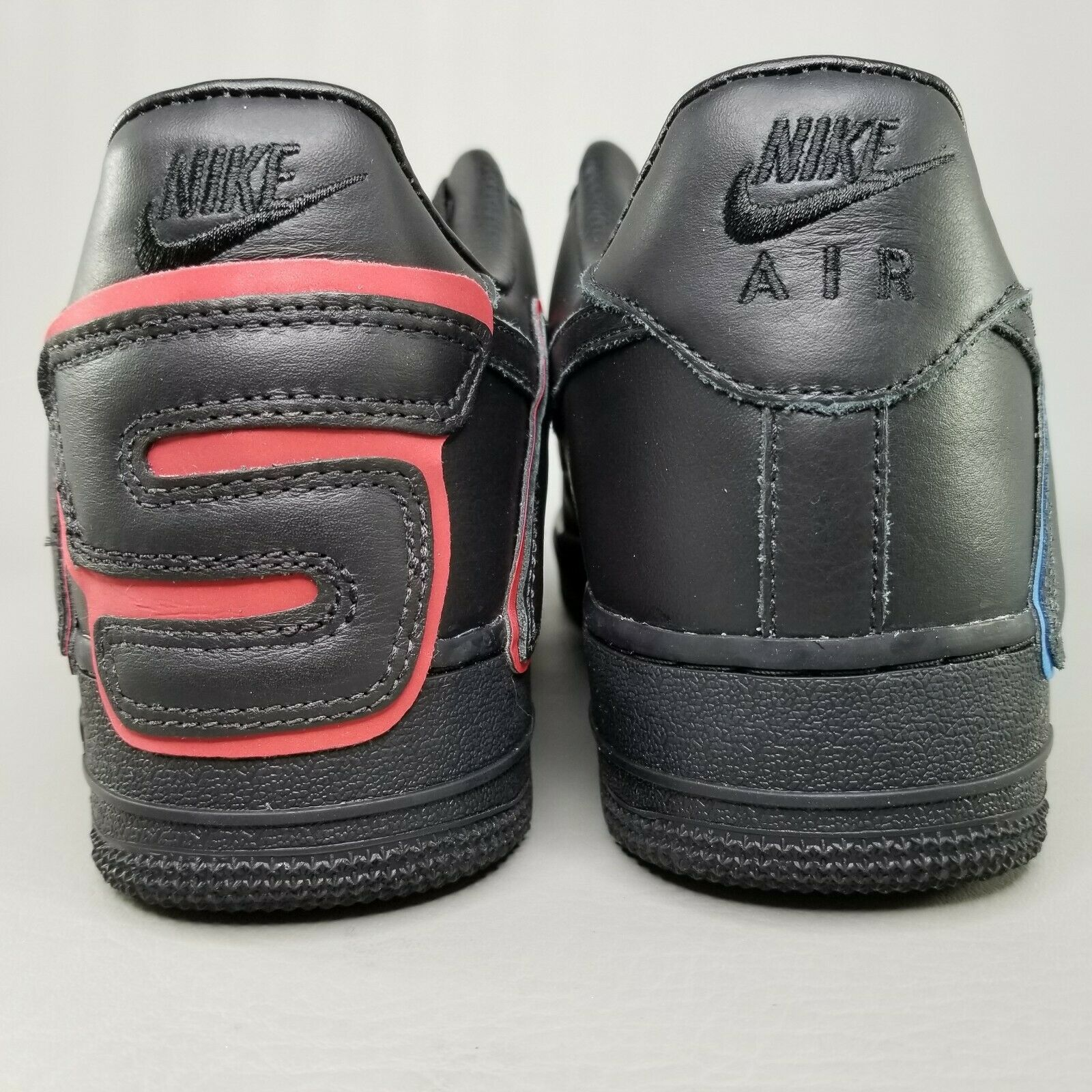 Nike Air Force 1 Low x CPFM Athletic Shoes Mens Size 8.5 Black Blue Red Sunshine image 4