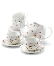 Royal Albert Country Rose Buds 9-Piece Tea Set NEW - $84.14