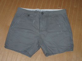 Armani Exchange Authentic Flat Front Shorts Gray Nwt - $19.99