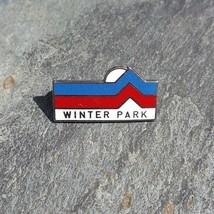 WINTER PARK Mountain Sun Ski Skiing Souvenir Travel Lapel Hat Pin ~ Colo... - $11.99