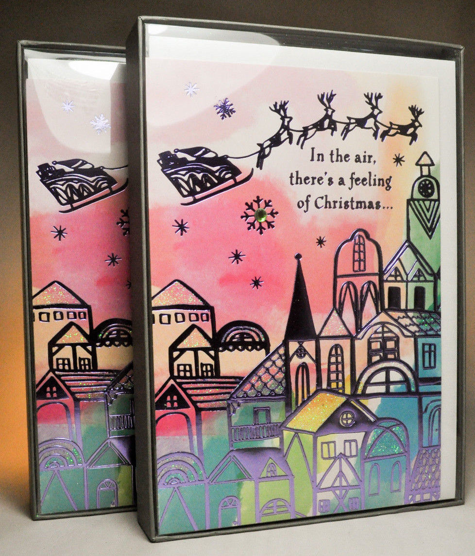 Hallmark: Boxed Christmas Cards - In The Air and similar items