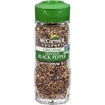 McCormick Gourmet Organic Cracked Black Pepper, 1.37 oz - $14.84